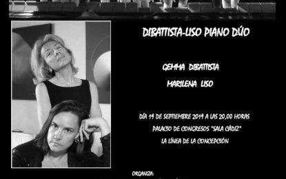 Dibattista- Liso Piano Dúo inaugura el jueves la 61ª temporada de conciertos de la Sociedad Musical Félix Enríquez