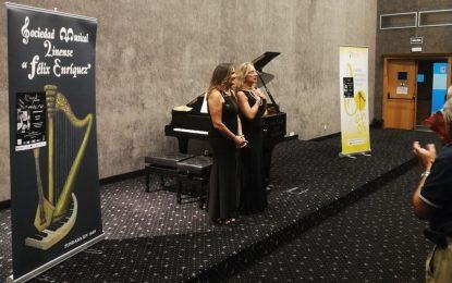 """Dibattista-Liso Piano Dúo inauguró con gran éxito la 61ª temporada de conciertos de la Sociedad Musical Linense """"Félix Enríquez"""""""