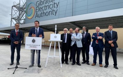 La central eléctrica de Gas Natural Licuado de Gibraltar enciende motores