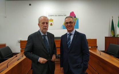 El presidente de la Mancomunidad se reúne con el delegado de Asuntos Exteriores para analizar el brexit en la comarca