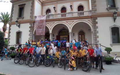 Celebrado el paseo popular en bicicleta con una gran participación de escolares y aficionados