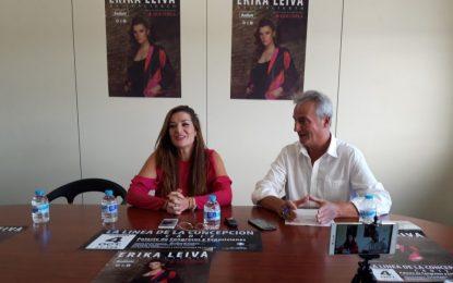 """Erika Leiva presentará en la ciudad su nuevo espectáculo """"+Que Copla"""" el próximo 4 de octubre"""