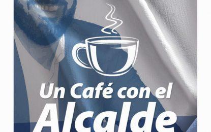 Un café con el alcalde, el jueves 3 de octubre en cafetería Mónica
