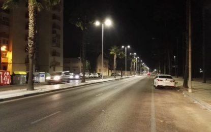 Ejecutado el 15% de los trabajos de sustitución del alumbrado público con la instalación de más de 1.100 nuevas luminarias tipo led