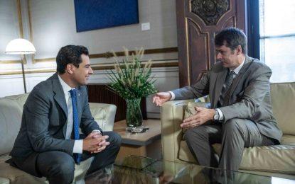 Moreno valora la estrecha relación de Andalucía con Reino Unido para amortiguar los efectos del Brexit