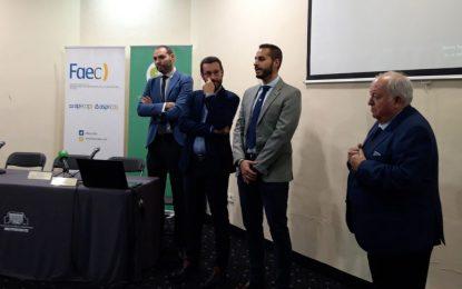 Mario Fernández ha inaugurado esta mañana las Jornadas sobre Construcción Sostenible celebradas en el Palacio de Congresos