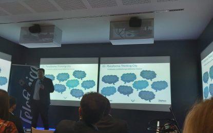 Sebastián Hidalgo asiste a unas jornadas sobre desarrollo urbano sostenible en Málaga