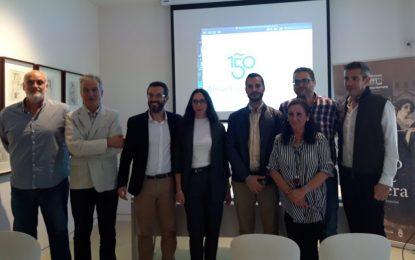 Presentado el logotipo del 150 Aniversario de la ciudad a cargo de la ganadora del concurso, Sara Pérez Santos