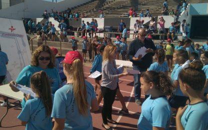 Celebrada la Olimpiada Escolar de Atletismo con destacada participación