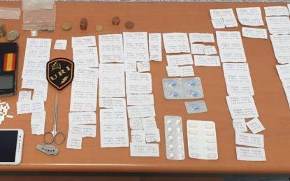 La Policía Local detiene a un individuo como presunto autor de un delito contra la salud pública