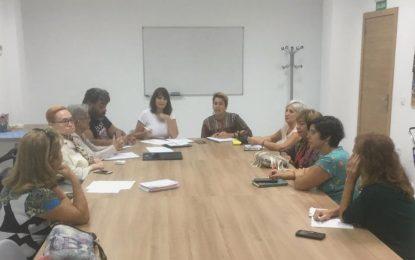 Igualdad aborda con colectivos de mujeres proyectos de futuro para coordinar actuaciones
