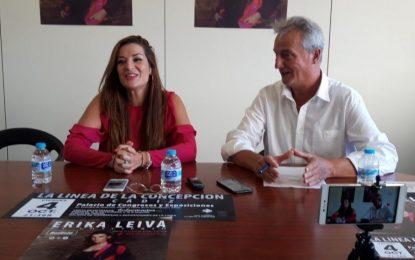 Erika Leiva presenta mañana en la Línea  su esèctáculo '+Qcopla'