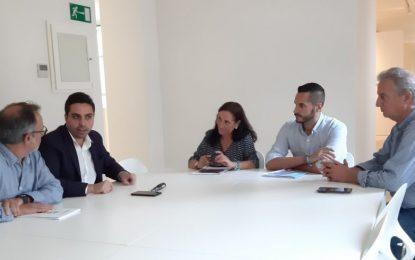 Las áreas de Cultura del Ayuntamiento y Diputación tratan  vías de colaboración para el 150 aniversario de la ciudad