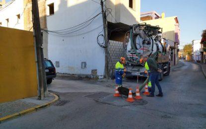 Infraestructuras destaca la ausencia de incidencias por inundaciones gracias a las últimas campañas de limpieza de imbornales