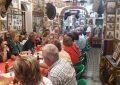 Unas 50 personas procedentes de Jaén visitan el Museo Taurino Pepe Cabrera