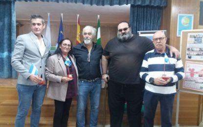 Encarnación Sánchez y Sebastián Hidalgo asiste a la jornada de inauguración del aula de cine del IES Machado