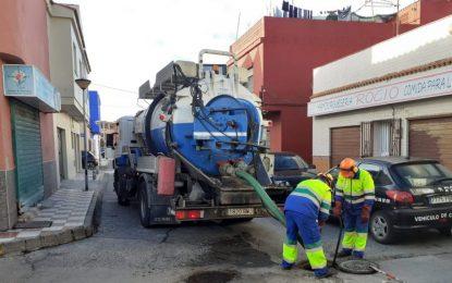 Infraestructuras comunica nuevas actuaciones de limpieza de imbornales y pide colaboración ciudadana para evitar inundaciones