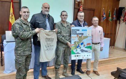 Hoy ha sido presentada en el acuartelamiento Cortijo Buenavista la VIII Carrera Cívico Militar 'Entre dos ciudades' que se celebrará el 24 de noviembre