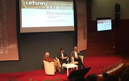"""Azuaga asiste al Congreso Internacional de Comercio Urbano """"Urban Commerce"""""""