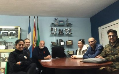 El concejal de Deportes recibe a la nueva directiva del Club Sierra Carbonera