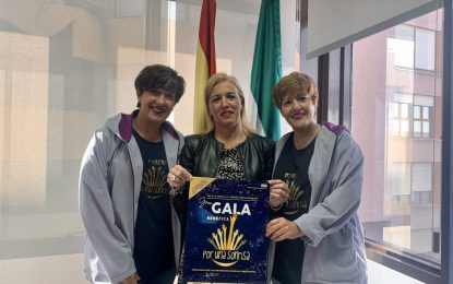 Eva Pajares apoya la gala benéfica de la Asociación 'Por una sonrisa'