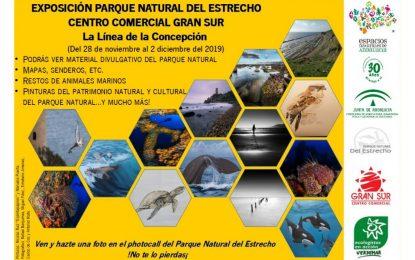 El Parque Natural del Estrecho organiza una exposición en el Centro Comercial Gran Sur de La Línea