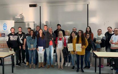 Finaliza con la entrega de diplomas el taller de ingles para atención al cliente impartido por Juventud