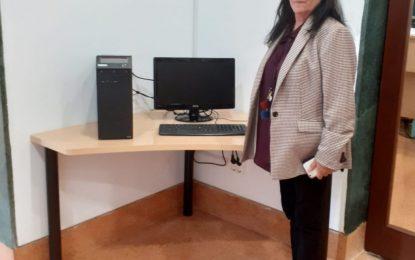 La Biblioteca José Riquelme recupera el servicio de conexión gratuita a internet a través de ordenador