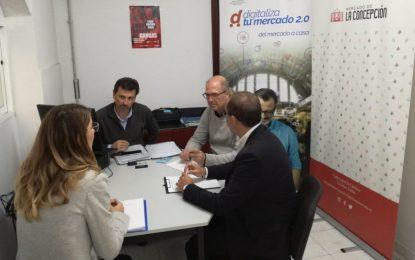 """El Mercado de La Concepción se acoge a la segunda fase del proyecto """"Digitaliza tu mercado"""""""