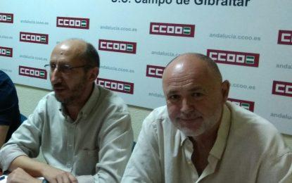 CCOO convoca concentración en el Hospital de La Línea