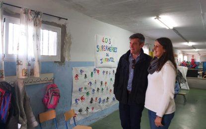 Educación acomete obras de mantenimiento y conservación en los centros educativos