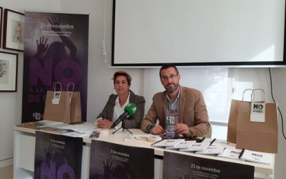 Igualdad presenta el programa de actos por el Día Internacional contra la Violencia de Género