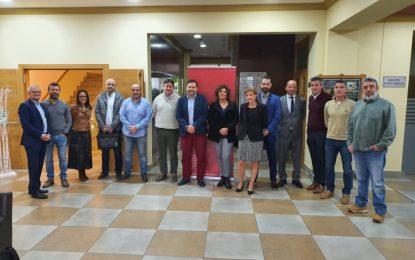 Sebastián Hidalgo ha participado en una reunión con la empresa Ingenia, especialista en administración electrónica y seguridad