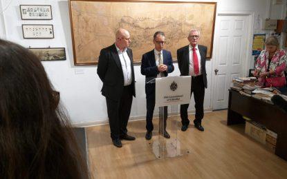 50 aniversario de los archivos nacionales de Gibraltar