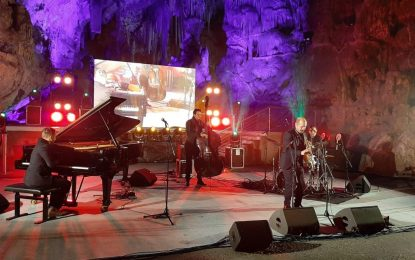 Stefano Di Battista muestra en Gibraltar la cara más entretenida del jazz