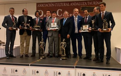 Anoche se entregaron los X Premios Taurinos Desdelcallejon.com (con galería de fotos)