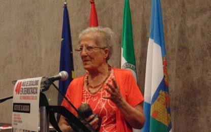 El Ayuntamiento lamenta el fallecimiento de Isabel Rodríguez Martos, histórica integrante del movimiento social contra la droga