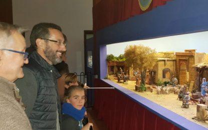 Bendición e inauguración del belén en el Edificio de La Comandancia