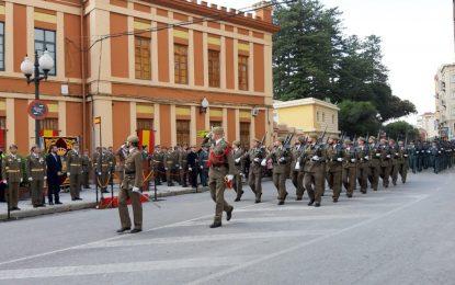 Izada y jura de bandera en La Línea (video íntegro del acto)