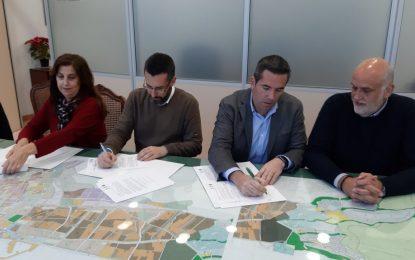 Firmado el convenio para celebrar en La Línea  la VI edición del Campeonato Andaluz de Baloncesto Infantil