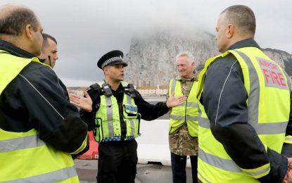 Las Fuerzas Armadas británicas en Gibraltar afrontan el reto del GIBEX