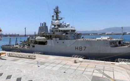 El HMS Forth llega a Gibraltar