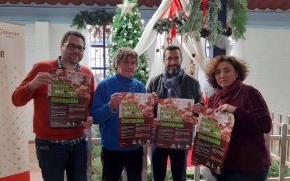 El Mercado de la Concepción inaugura la decoración e iluminación navideñas