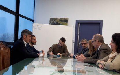 El alcalde de La Línea y el  rector de la UCA estudian la posibilidad de ampliar la oferta formativa universitaria en la ciudad