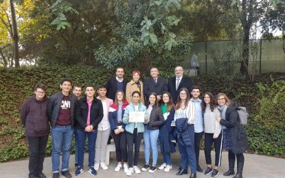 El IES Tolosa de La Línea recoge su Premio para el reconocimiento a centros bilingües y plurilingües en Andalucía con buenas prácticas docentes
