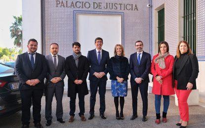 Marín anuncia que el Campo de Gibraltar contará con un depósito para vehículos y narcolanchas
