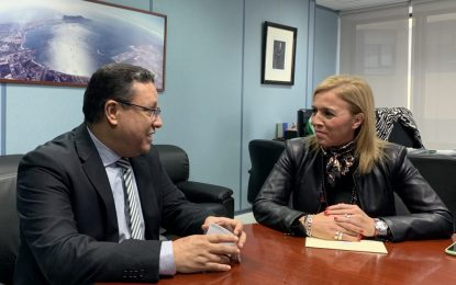 La subdelegada del Gobierno andaluz y el cónsul de Marruecos estrechan los lazos de cooperación