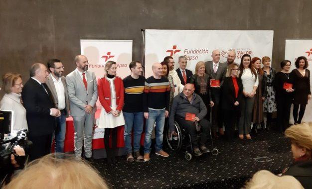 El alcalde de La Línea  participa en la entrega de los Premios Valor Social Cepsa celebrada en el Palacio de Congresos