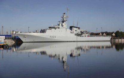 El buque de patrulla en alta mar HMS Medway llegará a Gibraltar el 24 de enero para una visita de rutina programada