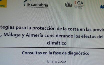 Abellán asiste en Cádiz a una reunión sobre Estrategias para la Protección de la Costa